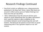 research findings continued1