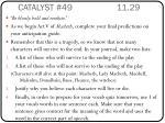 catalyst 49 11 29
