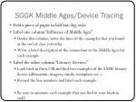 sggk middle ages device tracing