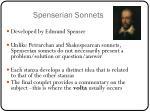 spenserian sonnets