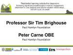 professor sir tim brighouse paul hamlyn foundation