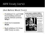 abm treaty 1972