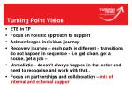 turning point vision