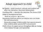 adapt approach to child