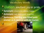 vocabulary words5