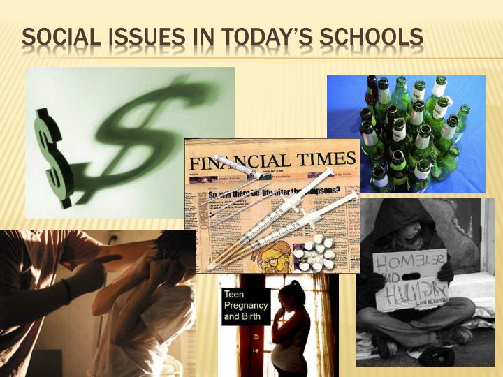social issues in today s schools n.
