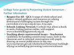 college tutor guide to preventing violent extremism further information4