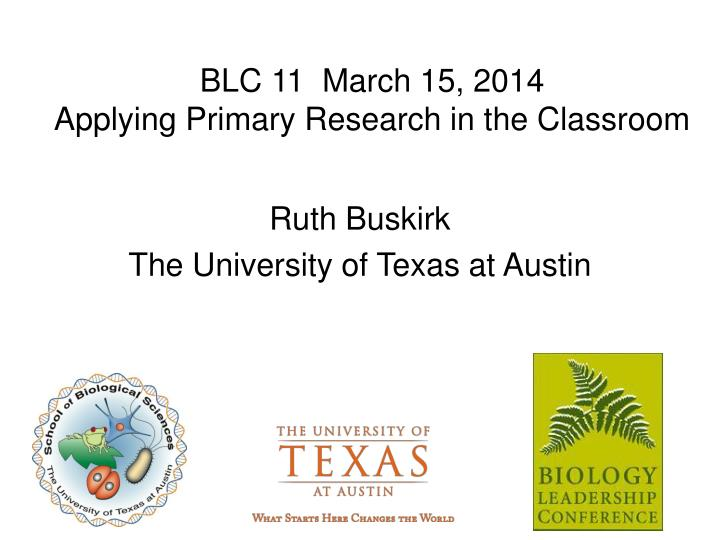 blc 11 march 15 2014 applying primary research in the classroom n.