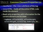 common element properties 2