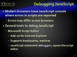 debugging javascript1