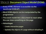 document object model dom1