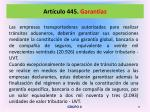 art culo 445 garant as2