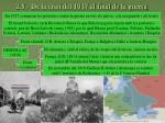 2 5 de la crisi del 1917 al final de la guerra