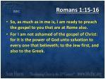 romans 1 15 161