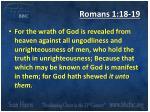 romans 1 18 19
