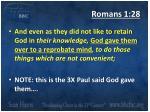 romans 1 28