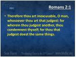 romans 2 1