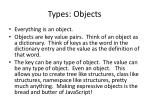 types objects1