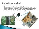 backdoors shell
