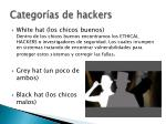 categor as de hackers