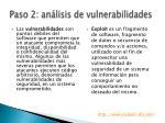 paso 2 an lisis de vulnerabilidades
