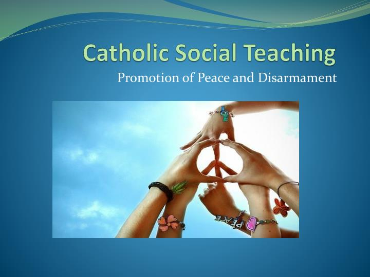 catholic social teaching n.