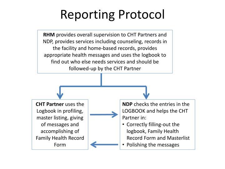 Reporting Protocol