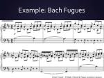 example bach fugues