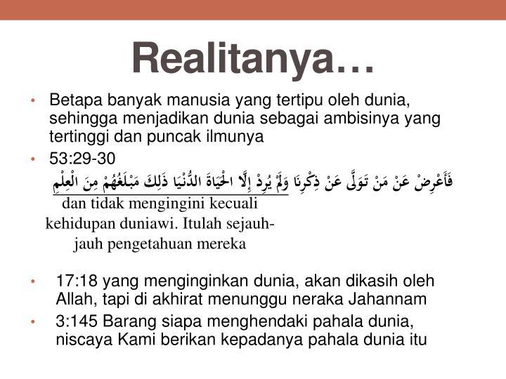 Realitanya