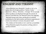 kingship and tyranny1