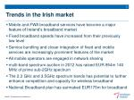 trends in the irish market