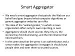 smart aggregator