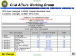 civil affairs working group