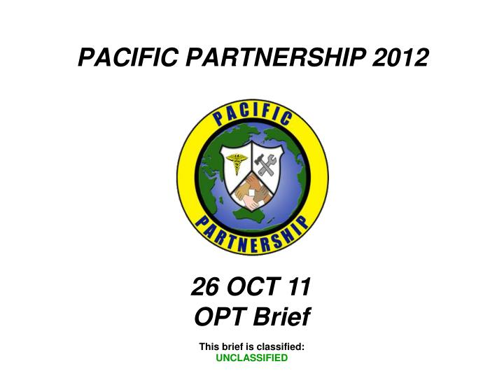 pacific partnership 2012 n.
