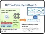 the two phase check phase 2