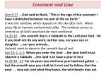 covenant and law