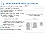 technical specification edms 1146023