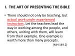 i the art of presenting the bible2