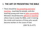 i the art of presenting the bible5