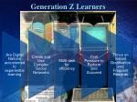 generation z learners