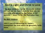 god is light and christ is love8