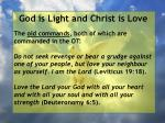 god is light and christ is love94