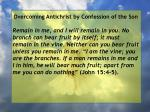 overcoming antichrist by confession of the son2