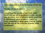 overcoming antichrist by confession of the son20