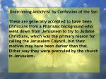 overcoming antichrist by confession of the son28