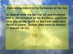 overcoming antichrist by confession of the son36