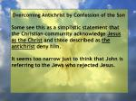 overcoming antichrist by confession of the son50