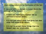 overcoming antichrist by confession of the son54