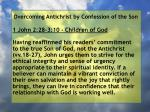 overcoming antichrist by confession of the son88