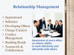 relationship management
